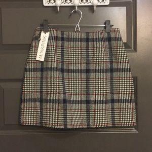 MINKPINK Blue Sweater Mini Skirt Size Medium
